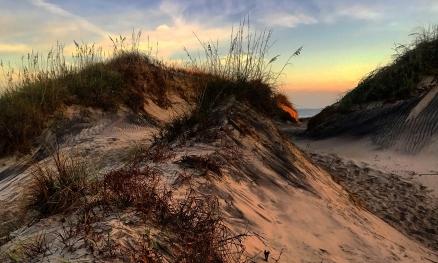 Cape Hatteras - Sunrise Sand Dunes